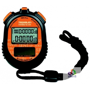 SEKUNDMATIS TREMBLAY SOLAR-POWERED STOPWATCH